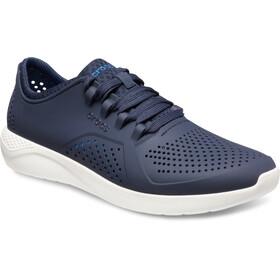 Crocs LiteRide Pacer Schoenen Heren, blauw/wit